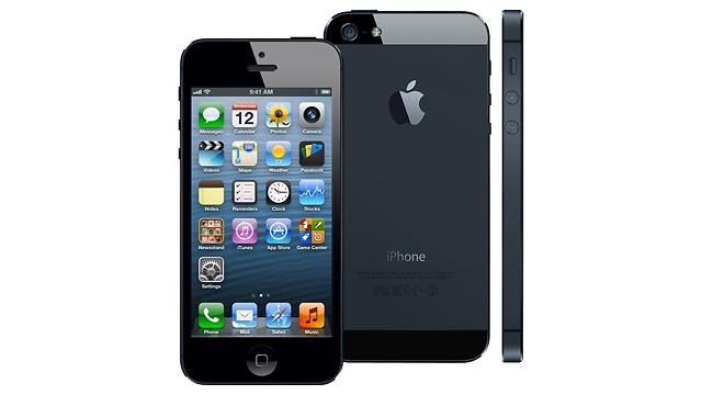 iPhone 5 (צילום: Apple)