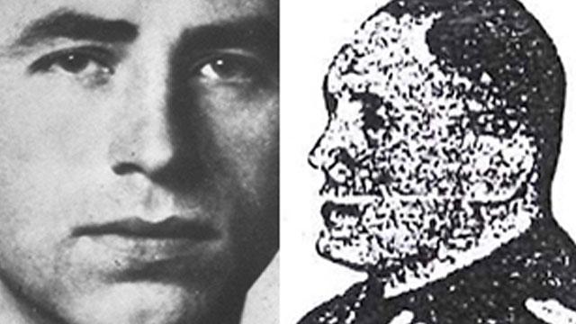 Alois Brunner (L) and Heinrich Müller. Two of the Nazi war criminals who weren't assassinated