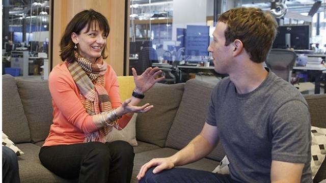 צוקרברג גייס את רג'ינה דוגן (צילום: פייסבוק)