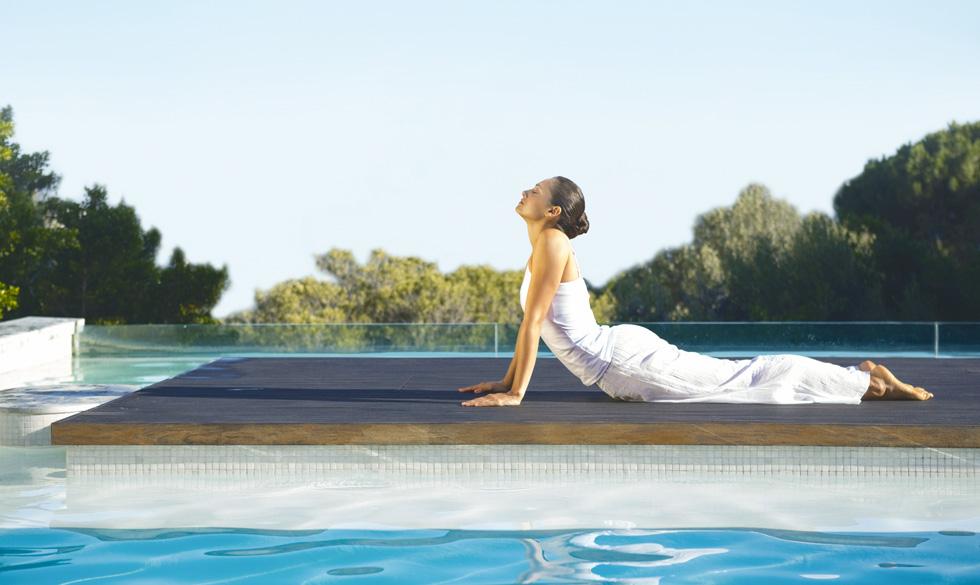 ירידה ברמת המתח תשפיע גם על תחושה נינוחה יותר בבטן (צילום: Shutterstock)