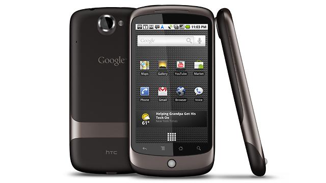 Nexus One - שיתוף הפעולה הראשון בין החברות (צילום: HTC)