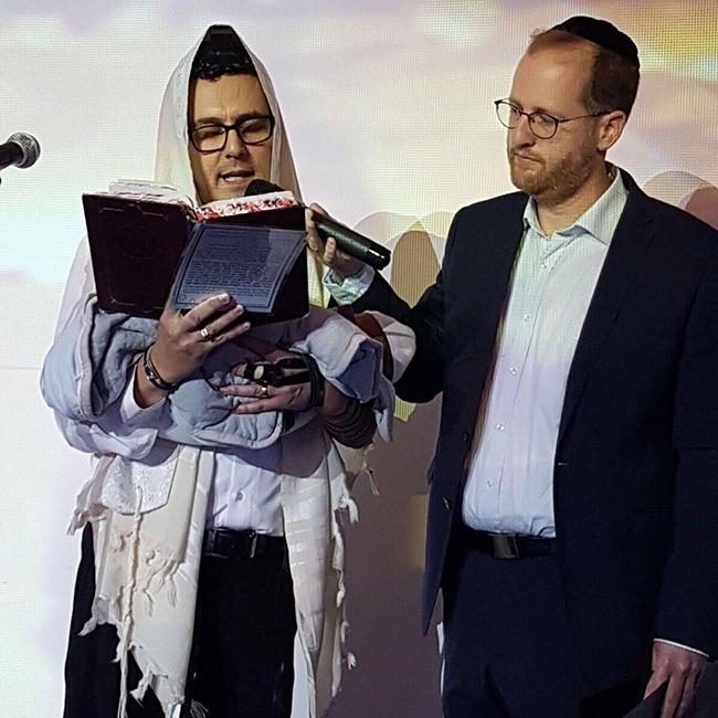 ערך את הטקס. ידידיה מאיר (צילום: LOOK צלמים)