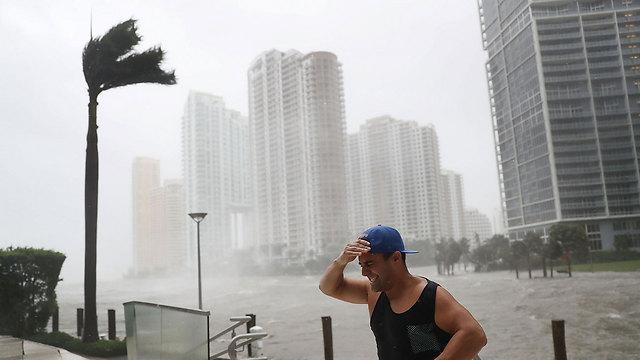 "Ураган ""Ирма"", Майами. Фото: AFP"