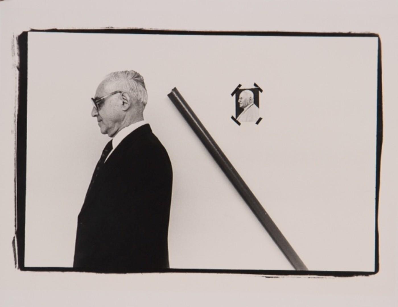 מאיר וילנר. צילום: מיכה קירשנר (מתוך אוסף מוזיאון תל אביב לאמנות)