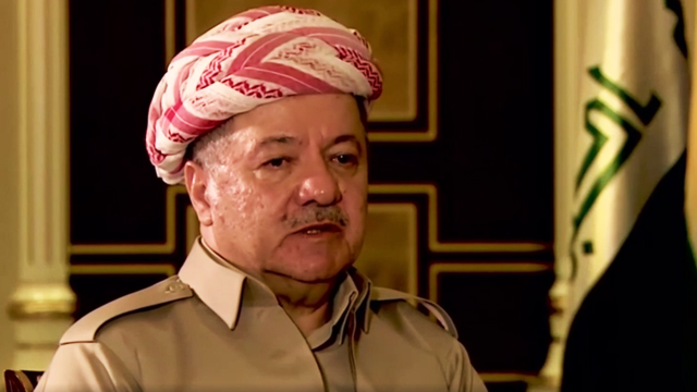נשיא כורדיסטן מסעוד אל-ברזאני