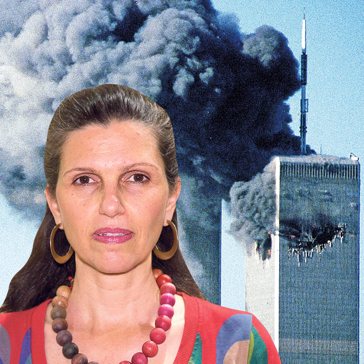 Сигаль Шефи, вдова погибшего в теракте. Фото: Таль Шахар