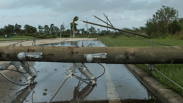 """Последствия урагана """"Ирма"""". Фото: AFP"""