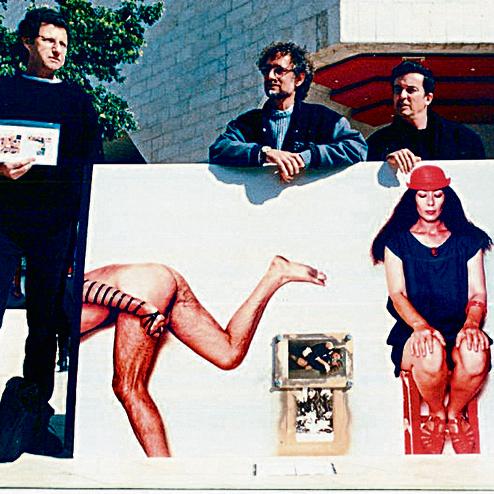 1982 . הסערה בעקבות התצלום הפרובוקטיבי של יונה וולך, העירום והתפילין