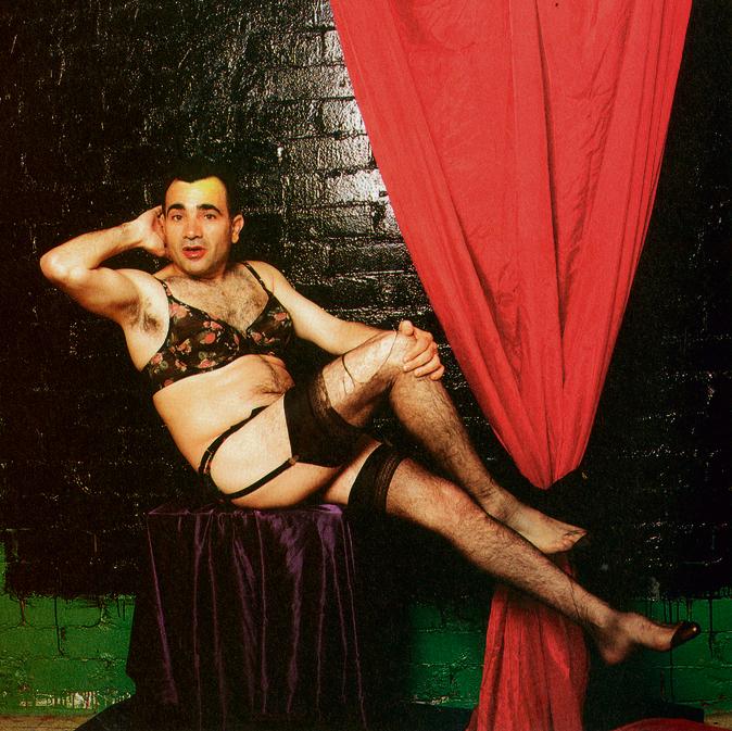 1992. משה איבגי בצילום יוצא דופן של קירשנר