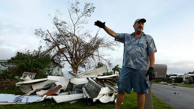 """Последствия урагана """"Ирма"""". Фото: MCT"""