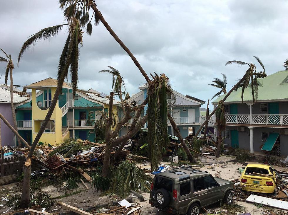 Damage in Saint Martin (Photo: SSF)
