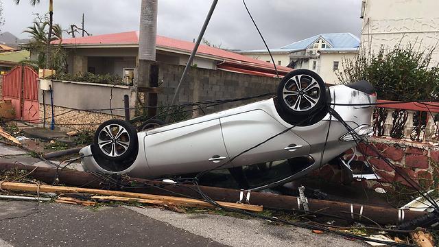 "Последствия урагана ""Ирма"". Фото: SSF"