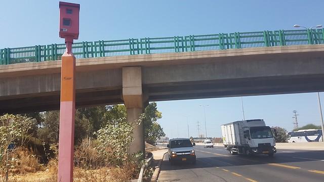 מצלמת המהירות בכביש 44 (אודי עציון)