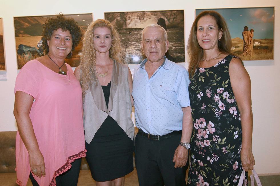 סיגל בר און, אלי פישר, דיקלה לאור וקארן וויס (צילום: יעל מוסברג)
