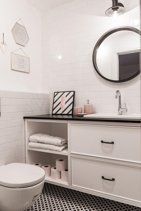 חדר אמבטיה נוסף (צילום: גלעד רדט, סטיילינג צילומים: לינוי לנדאו)