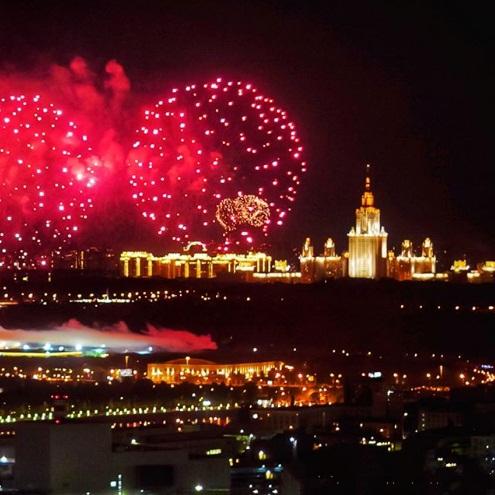 מזל טוב: 870 למוסקבה, בירת רוסיה ()
