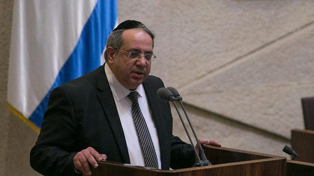 MK Yigal Guetta, sworn in to the Knesset (Photo: Ohad Zwigenberg) (Photo: Ohad Zwigenberg)