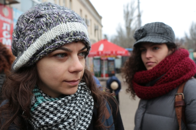 Алекс Риф во время экскурсии по Одессе. Фото: личный архив