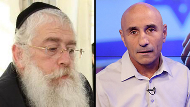 MKs Meir Porush (United Torah Judaism) and Ofer Shelah (Yesh Atid) both weighed in on the issue (Photo: Avi Moalem, Yaron Brener) (Photo: Avi Moalem, Yaron Brener)
