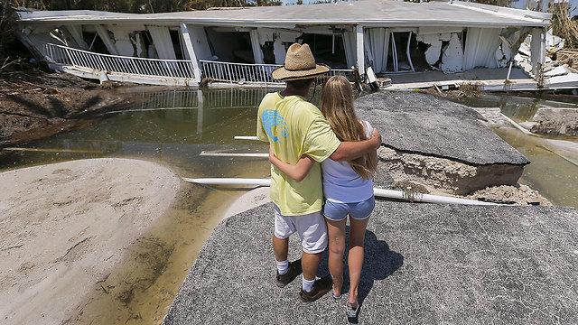 """Последствия урагана """"Ирма"""" во Флориде. Фото: EPA"""
