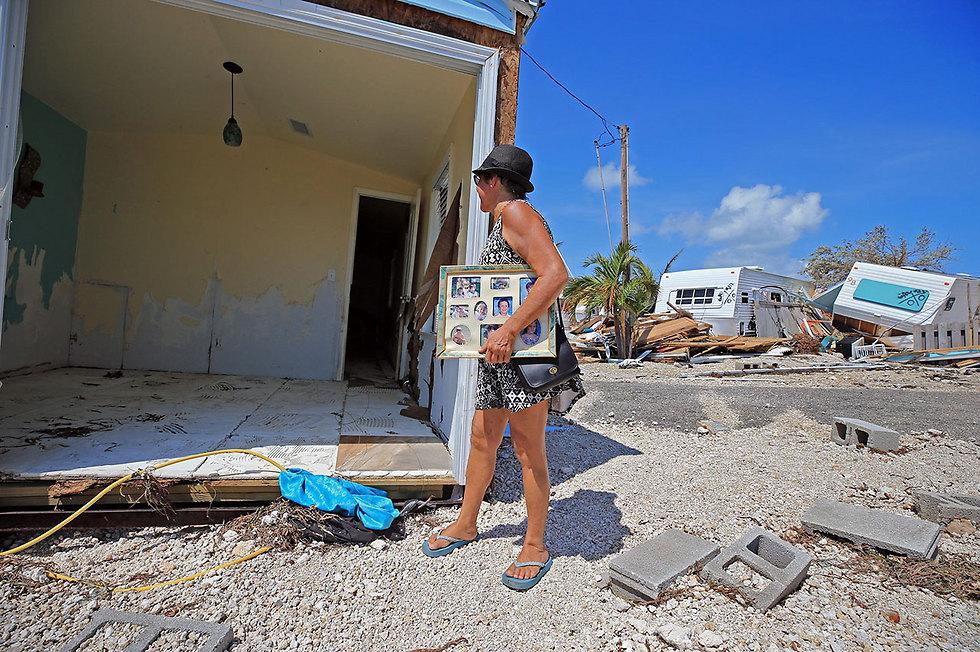 """Последствия урагана """"Ирма"""" во Флориде. Фото: МТС"""