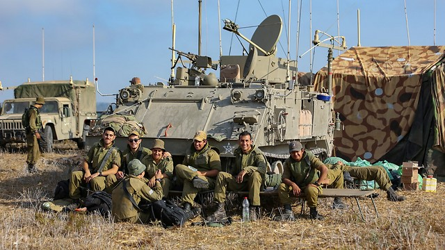 IDF Northern Command drill (Photo: Yaron Brenner)
