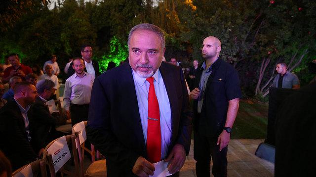 Defense Minister Avigdor Lieberman (Photo: Ohad Zwigenberg)