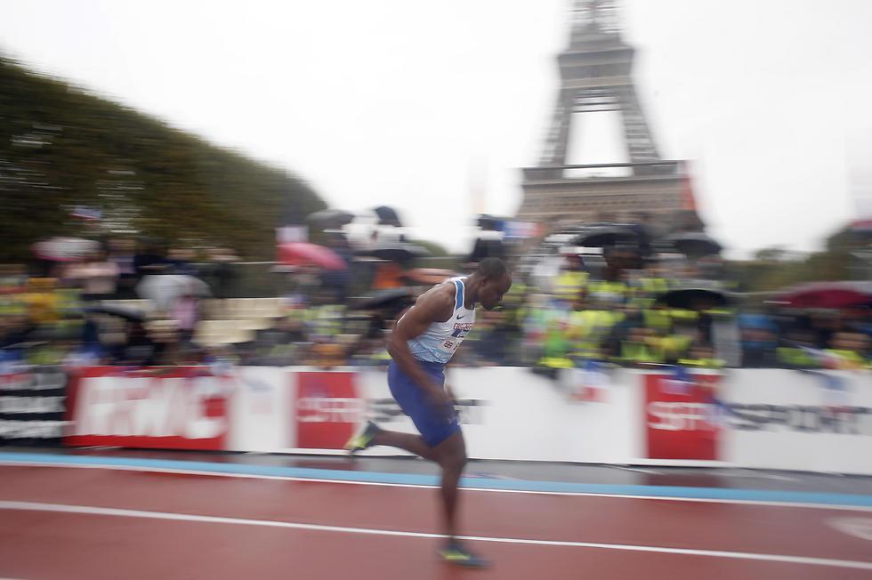 בירת צרפת שוב תארח אולימפיאדה (צילום:AP)