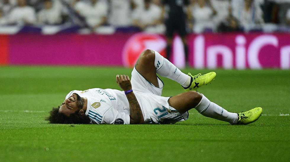 מרסלו על הדשא. ירידה ביכולת (צילום: AFP)