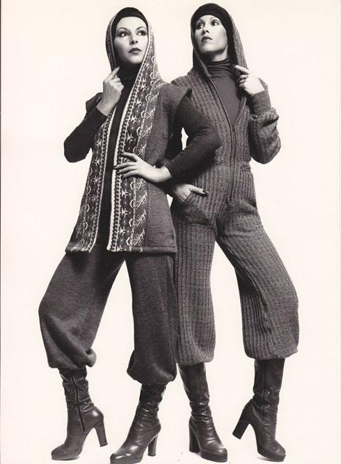 דגמי החברה משנות ה-70 (צילום: סמי בן גד)