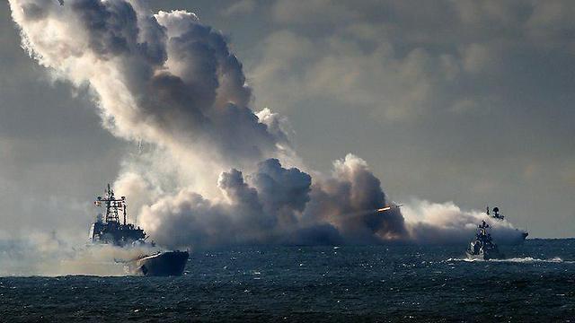 תמונות שהפיץ משרד ההגנה הרוסי