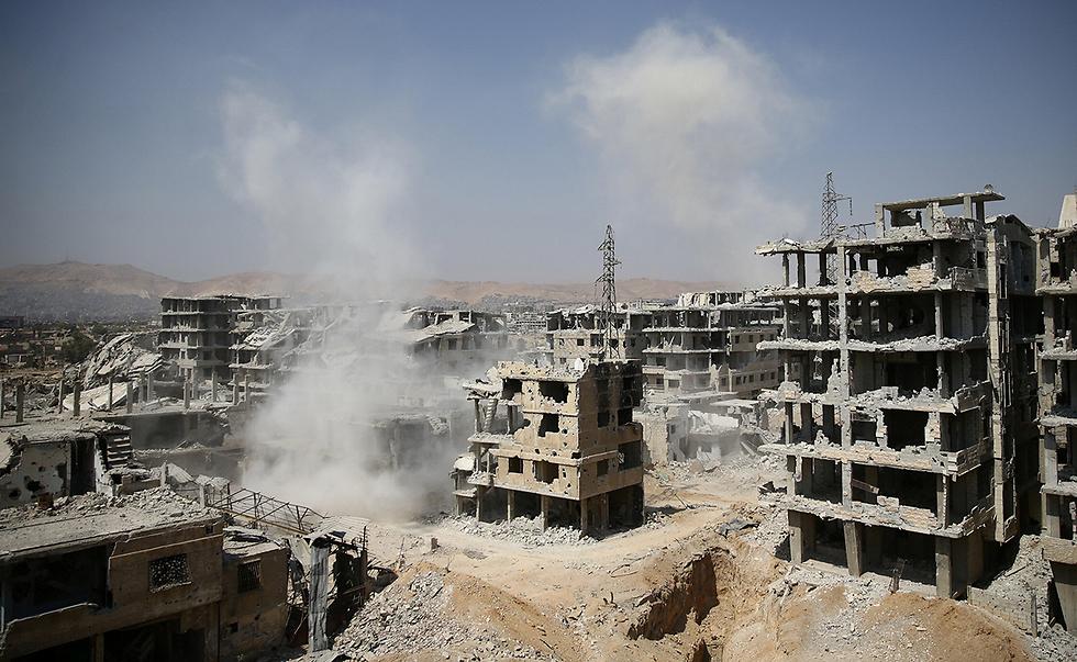 ספטמבר - החודש הקטלני ביותר בסוריה ב-2017 (צילום: רויטרס) (צילום: רויטרס)