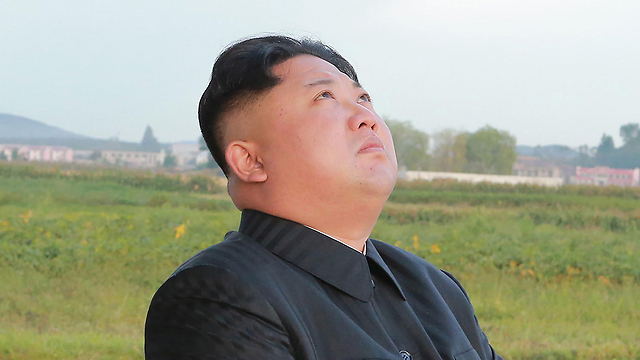 North Korean leader Kim watching a ballistic missile test (Photo: AFP) (Photo: AFP)