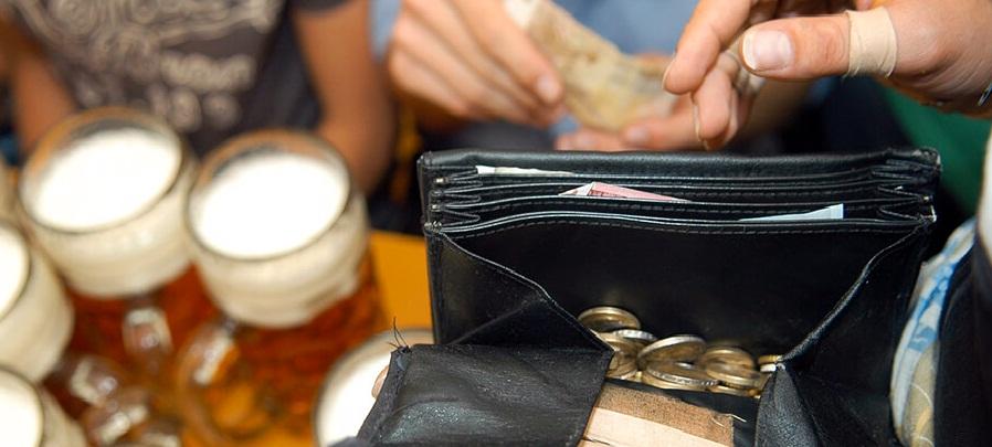 10.95 אירו לליטר בירה בפסטיבל