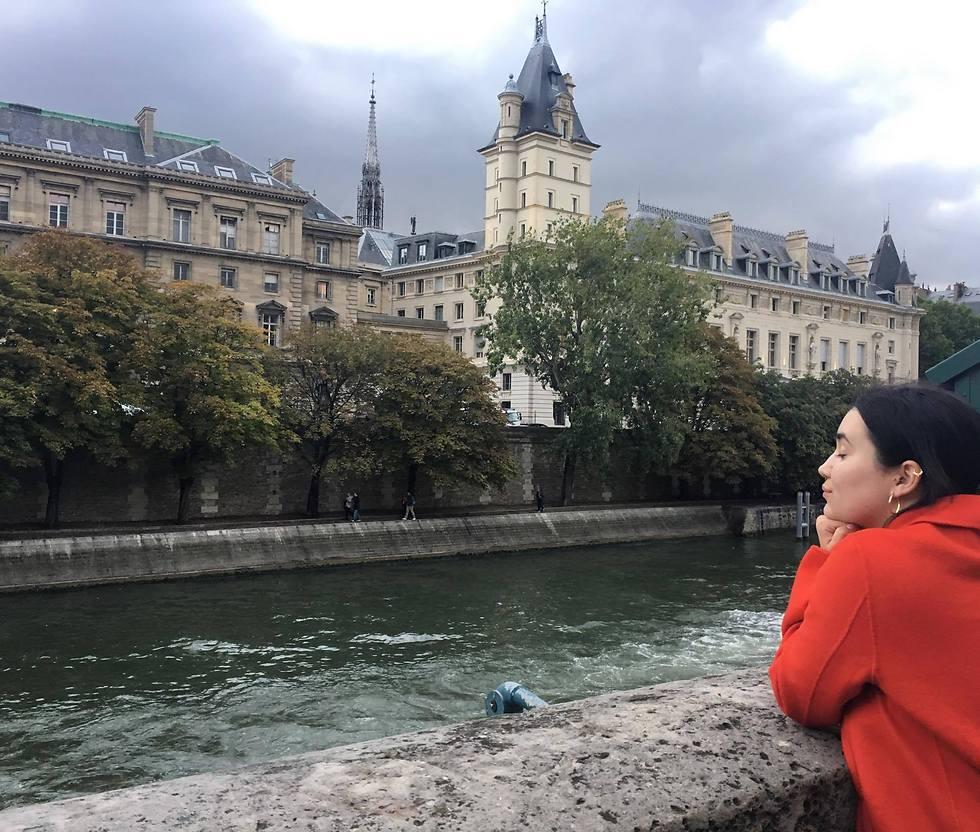 מחשבות על אהבה בעיר הרומנטית בעולם. גפן גיל (צילום: אוסף פרטי)