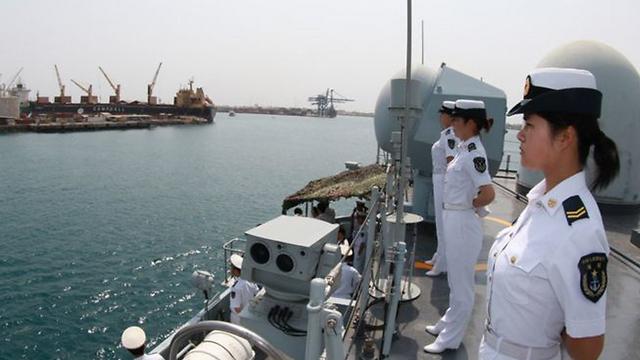 חשיבות סמלית רבה בזירה העולמית. כוח ימי סיני בג'יבוטי
