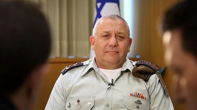 Chief of Staff Gadi Eisenkot (Photo: Avi Moalem)