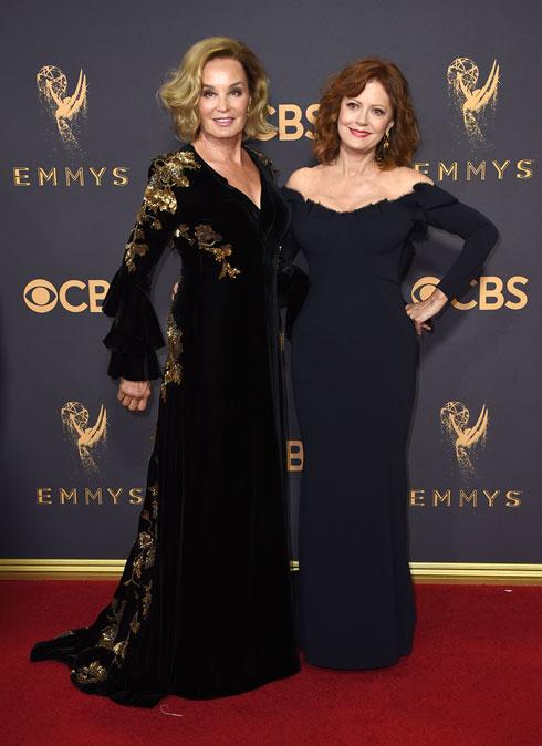 סוזן סרנדון וג'סיקה לאנג. לסטייל אין גיל (צילום: AP)