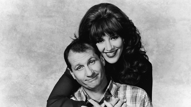 הדוגמה האולטימטיבית לאומללות מחיי הנישואים - אל ופגי בנדי (צילום: Getty Images imagebank)