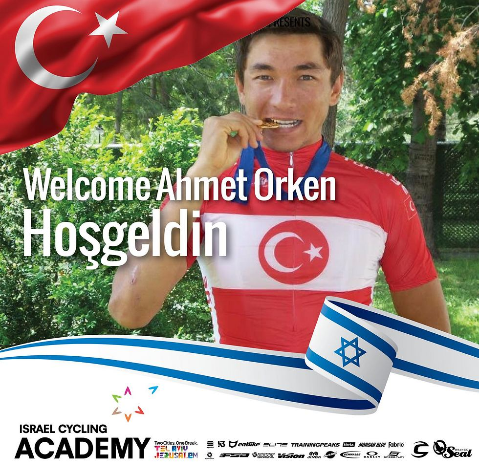 Cycling Academy's announcement of Orken's signing (Photo: Veloimages)