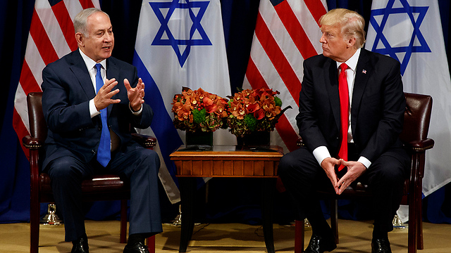 Prime Minister Benjamin Netanyahu (L) and US President Donald Trump. A Saudi-American initiative for an Israeli-Palestinian agreement (Photo: AP) (Photo: AP)