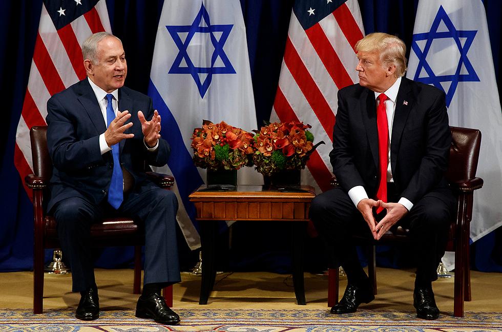 Benjamin Netanyahu and Donald Trump (Photo: AP) (Photo: AP)