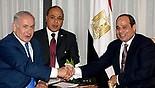 Netanyahu and al-Sisi first meeting