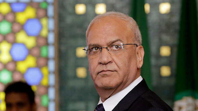 Head of the Palestine Liberation Organization (PLO) Executive Committee Saeb Erekat  (Photo: AP)