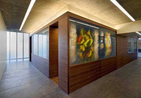הכניסה לבית המדרש האינטימי (צילום: Rien van Rijthoven)