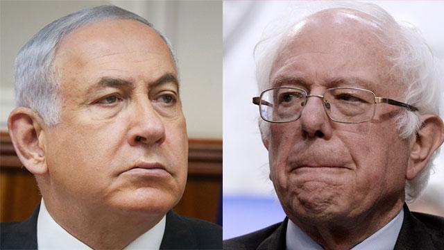 Benjamin Netanyahu and Bernie Sanders (Photo: AFP, Marc Israel Sellem)