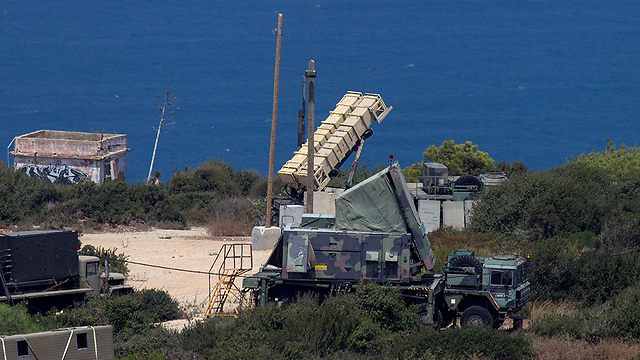 The IDF Patriot missile launching battery (Photo: Reuters)