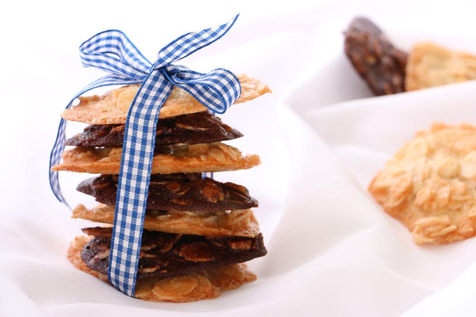 עוגיות שקדים בלי קמח (צילום: טליה הדר)
