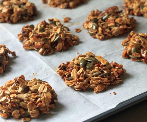 עוגיות גרנולה (צילום: אורלי חרמש)