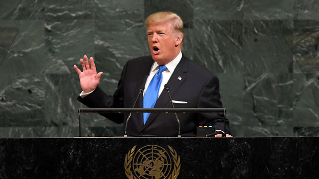 In his UN speech, Trump said the deal was 'one of the worst' the US had ever done (Photo: AFP)